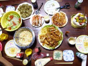 20170615誕生日の料理