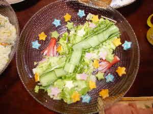 天の川風サラダ