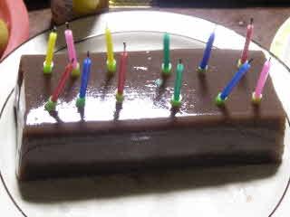 誕生日ケーキの代わりに羊羹