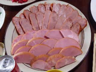 ハムと焼き豚